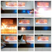 CLEO Fire Test